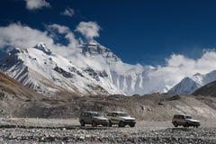 Montagne d'Everest Photos libres de droits