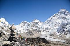 Montagne d'Everest Photos stock