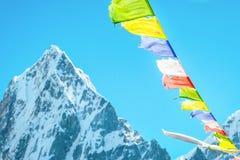 Montagne d'Everest Everest de crête de montagne la plus haute au monde Na Images stock