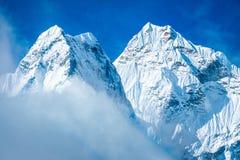 Montagne d'Everest Everest de crête de montagne la plus haute au monde Na Image libre de droits