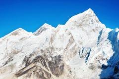 Montagne d'Everest de crête de montagne la plus haute au monde P national Photo stock