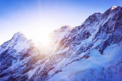 Montagne d'Everest de crête de montagne la plus haute au monde P national Images stock