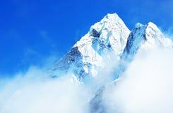Montagne d'Everest de crête de montagne la plus haute au monde P national Photographie stock