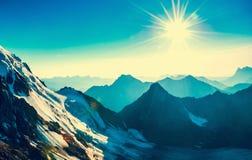 Montagne d'Everest de crête de montagne la plus haute au monde P national Photos libres de droits