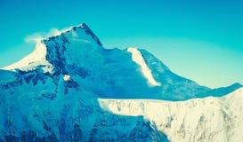 Montagne d'Everest de crête de montagne la plus haute au monde P national Image stock