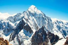 Montagne d'Everest de crête de montagne la plus haute au monde P national Photo libre de droits