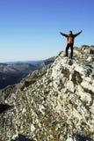 montagne d'homme Image libre de droits
