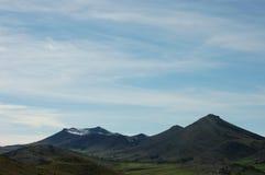 Montagne d'horizon Photo libre de droits