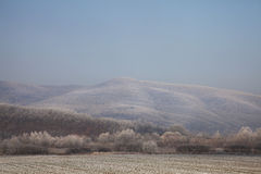 montagne d'horizontal Image stock