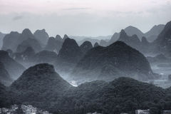 montagne d'horizontal photo stock