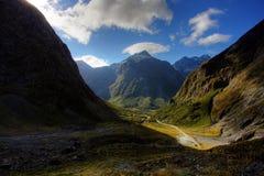 montagne d'horizontal photos libres de droits