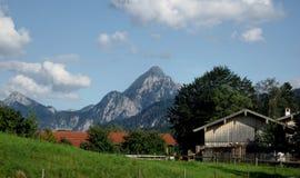 montagne d'horizontal d'alpes photos stock