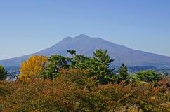 Montagne d'Iwaki Images libres de droits