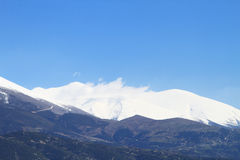 Montagne d'Olympe image stock