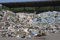 Montagne d'ordures photographie stock libre de droits