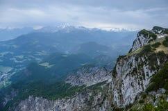 Montagne d'Untersberg, Salzbourg, Autriche Photo stock