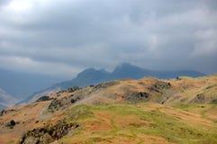 Montagne da argento come Fotografia Stock