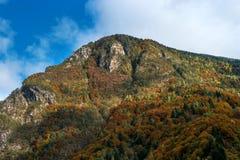 Montagne dans les Alpes autrichiens en automne Image libre de droits
