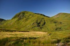 Montagne dans Snowdonia images libres de droits
