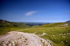 Montagne dans Snowdonia photo libre de droits