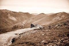 Montagne dans Snowdonia photographie stock