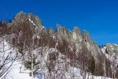 Montagne dans Taganay Photos stock
