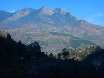 Montagne dans Uttranachal photos libres de droits