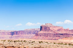 Montagne dans Wolf Canyon repéré Images stock