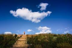 Montagne de Baihua Photographie stock