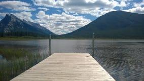 Montagne de Banff Images stock