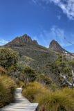 Montagne de berceau Photos stock