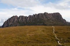 Montagne de berceau - Tasmanie Image stock