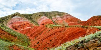 Montagne de Bogdo L'Astrakan, Russie, naturelle Images stock