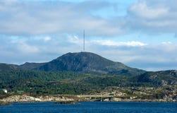 Montagne de Boknafjell, Rogaland, Norvège Image stock