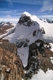 Montagne de Breithorn 4164m région dans Alpes suisses, Suisse, Valais images libres de droits