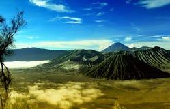 Montagne de Bromo Image libre de droits