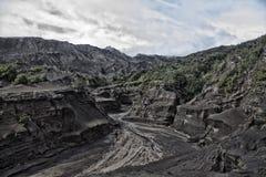 Montagne de Bromo Images libres de droits