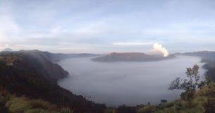 Montagne de Bromo d'une autre vue photo stock