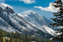 Montagne de brume Photo libre de droits