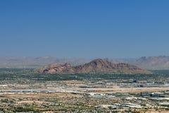 Montagne de Camelback à Phoenix, Arizona Images stock