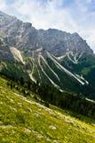 Montagne de Campiler, Tyrol du sud Photo libre de droits