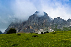 Montagne de Campiler, Tyrol du sud Images libres de droits