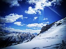 Montagne de Carosello Photographie stock