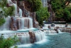 Montagne de cascade à écriture ligne par ligne, Las Vegas Photo libre de droits