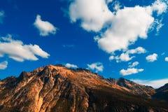 Montagne de cascades Photos stock