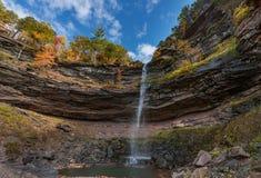 Montagne de Catskills d'automnes de N Kaaterskill Photos stock
