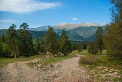 Montagne de Caucase image libre de droits