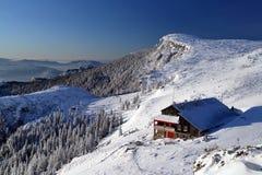 montagne de ceahlau Images stock