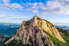 Montagne de central de Séoul Image stock
