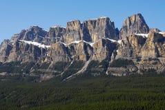 Montagne de château dans banff Photos libres de droits